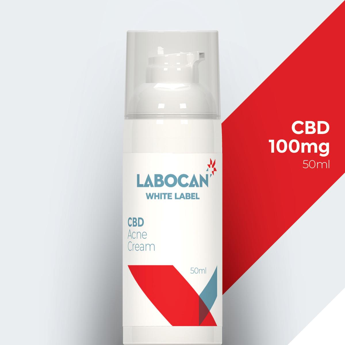 Labocan White Label CBD Akne-Creme