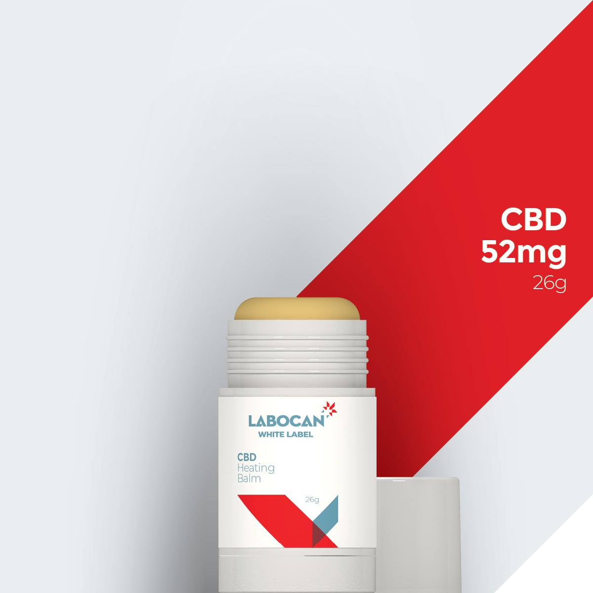Labocan White Label CBD Heizbalsam