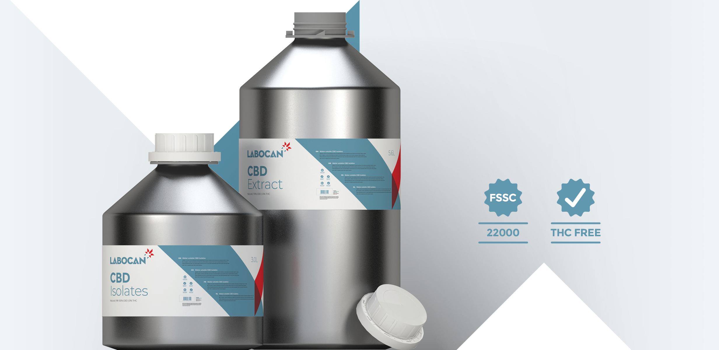 CBD-Isolate und CBD-Extrakt THC-frei
