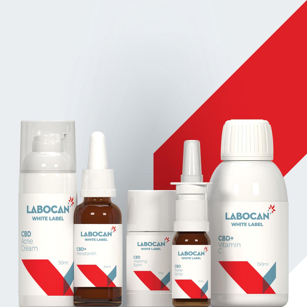 White-Label-CBD-Produkte von Labocan