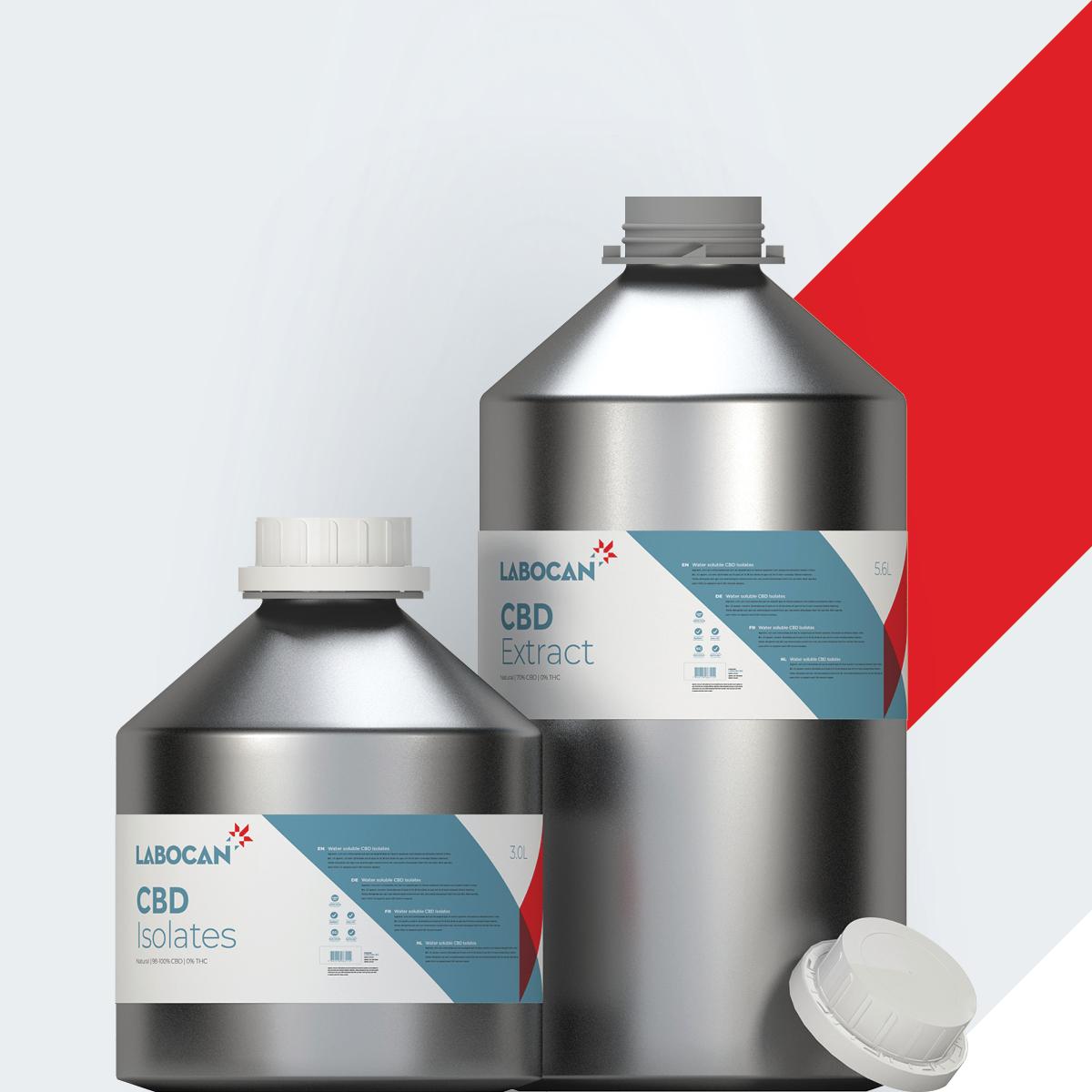 CBD-Isolate und CBD-Extrakt